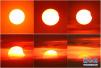 天宇上演日偏食天象 今年唯一一次日食