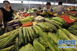 """""""双节""""临近气温降低 未来一周郑州蔬菜价格还将上涨"""
