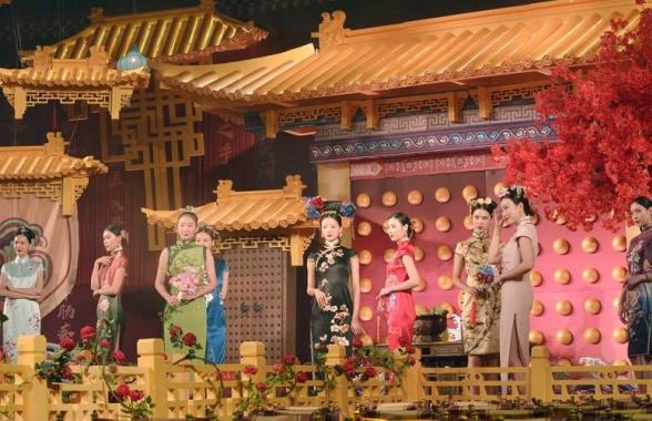 鄭州:古裝秀禮敬傳統文化