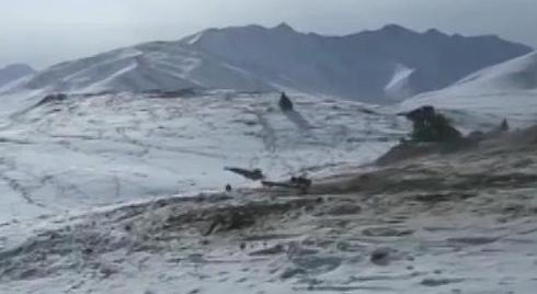陆军 海拔4000多米 实兵对抗演练