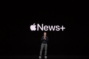 """史上""""最软""""苹果发布会举行:没有硬件上新 内容服务唱独角戏"""