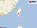 台湾岛内台东县发生5.7级地震 浙江都有强烈震感