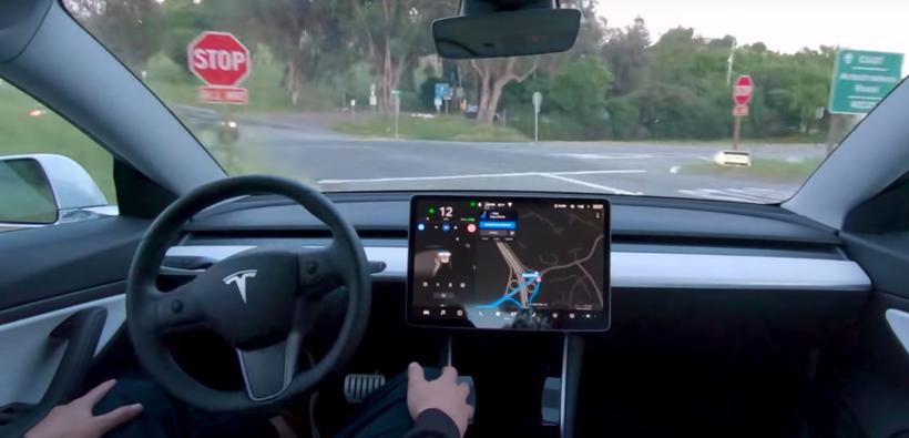 特斯拉,自动驾驶,特斯拉autopilot危险驾驶