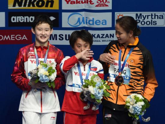锦标赛跳水比赛全部结束,中国跳水队夺得10枚金牌、3枚银牌和1枚铜