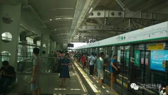 环中线运营时间_深圳地铁一号线哪一个站到深圳火车站近-