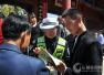 平陆交警:庙会现场宣传交通安全