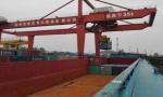 徐州-太仓及长江干线码头水运集装箱航线首航