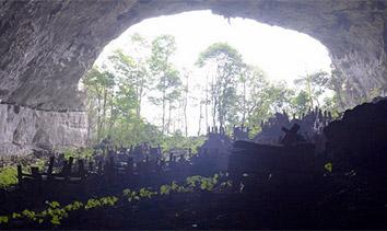貴州果裏岩洞葬