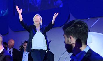 法國大選勒龐首輪勝出