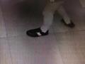 若不是穿了限量版皮鞋 鞍山这个贼还真不好抓