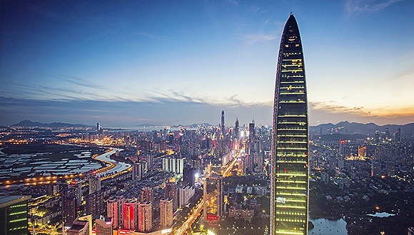 上海电视塔矢量图