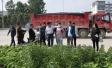 河南潢川老城办事处依法保障重点工程施工环境