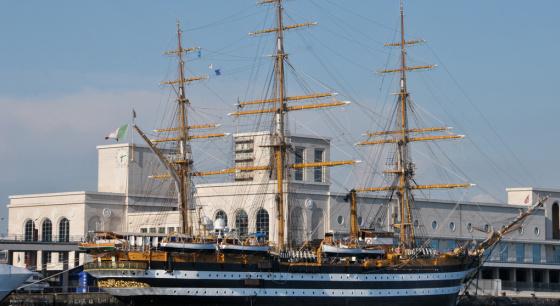 意大利:世界最美船只庆祝85岁高寿