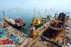 韩国造船业陷危机 中国造船业在严冬中崛起