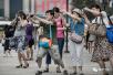 """出境游已成中国中产过年""""传统"""""""