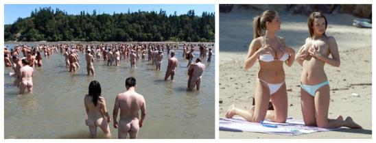 全球12个最香艳裸体海滩 看遍各色火辣美女
