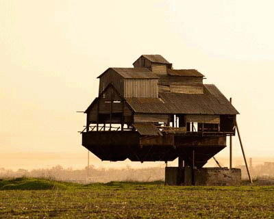 世界十大最奇怪的住宅 你一定没见过