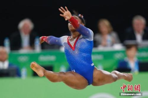 美国操导航_当地时间8月16日,在里约奥运会女子自由操决赛中,赛前夺冠大热门美国