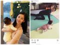 霸道总裁变奶爸 章泽天晒老公刘强东与女儿爬行照