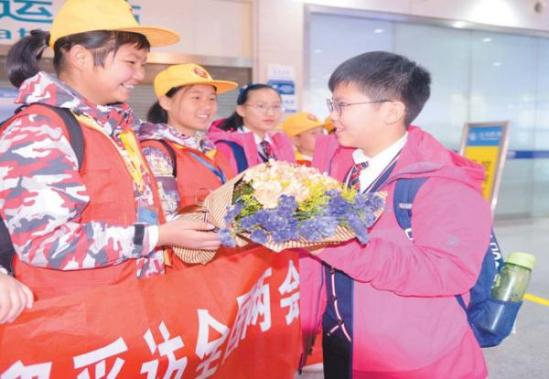 北京 宗泽/图片来自网络义乌小记者自北京载誉归来