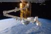 """日本""""鹳""""号货运飞船与国际空间站对接"""