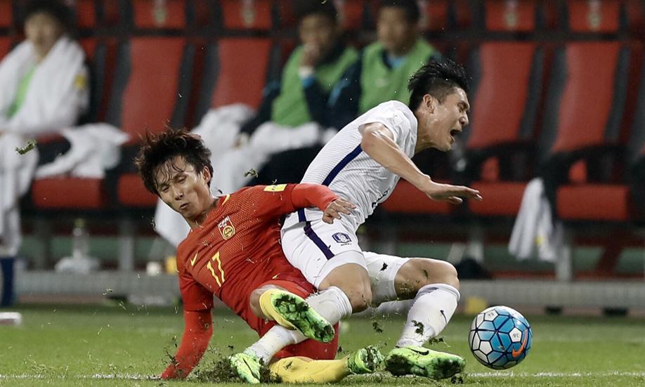 中国1比0战胜韩国