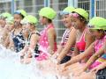 小学的移动游泳池