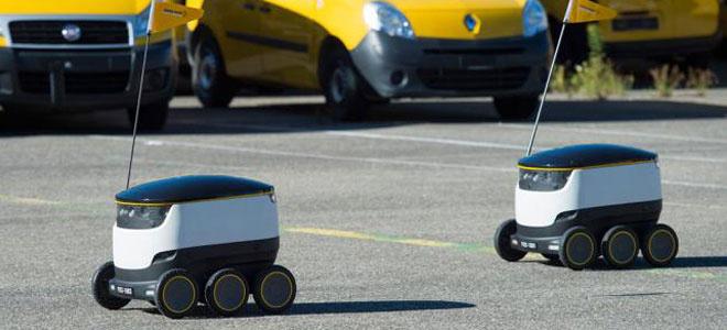 """让人类下岗?瑞士邮政部门将启用""""机器人大军"""""""