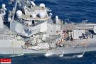 美国会将就撞船事故考问海军 深究战备方面问题