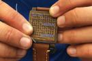 一块木头竟是智能手表