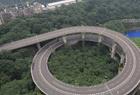 重庆720°螺旋式立交桥