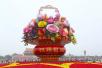 盘点:十年来天安门广场国庆花坛有什么变化?有何特点?