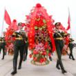 烈士纪念日举行献花仪式