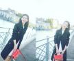 奶茶妹妹亮相巴黎时装周