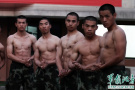 新兵45天练成肌肉男