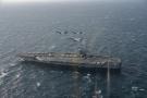 美日战舰联合作战演习