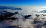红池云海与雪景邂逅