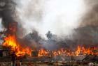 孟加拉贫民窟火灾