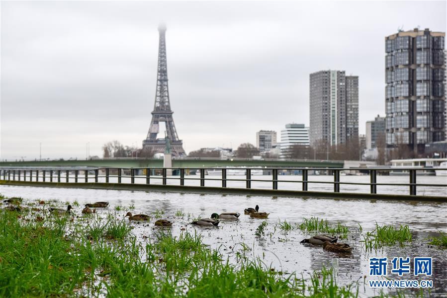 巴黎洪水橙色预警