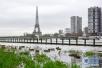 法国气象局发布洪水橙色预警 多段河岸公路被迫关闭