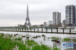 法国气象局发布洪水橙色预警多段河岸公路被迫关闭