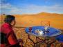 男子带79岁老妈自驾非洲 撒哈拉沙漠跳广场舞跨年
