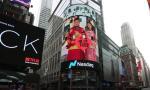 大国丝绸文化走向世界!苏州吴门桥品牌喜登美国纽约时代广场