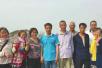 有惊无险!济南7女子被困华山 5男子连拉带托施救