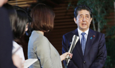 Abe sticks to resolving abduction issue with DPRK