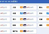 辽宁多地今日有雨 本周没风高温闷热上线周三最热