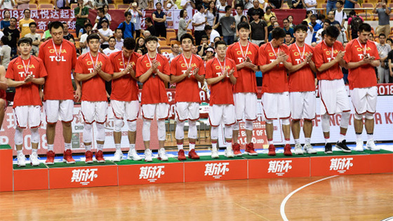 中国男篮蓝队不敌克罗地亚获2018斯杯季军