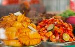 雅加达亚运会美食街