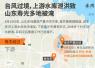 一图看懂山东寿光洪灾:上游泄洪导致下游村庄被淹
