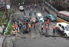 印度一高架桥坍塌